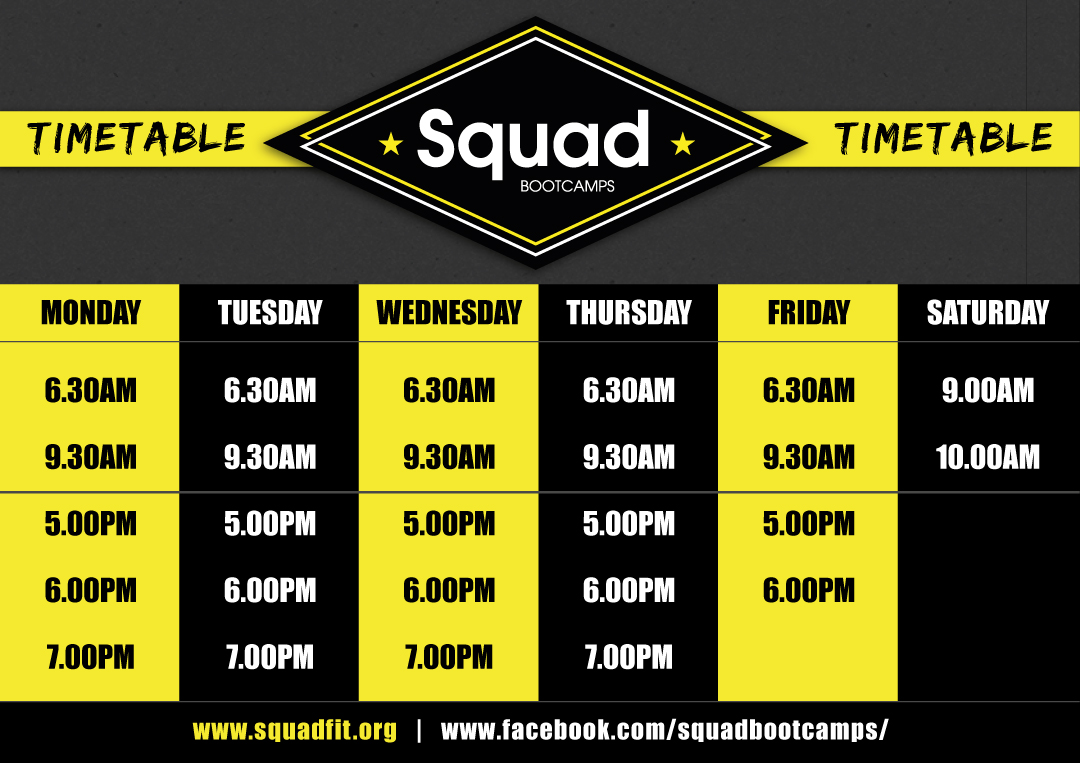 SQUAD-BOOTCAMPS-TIMETABLE-2020